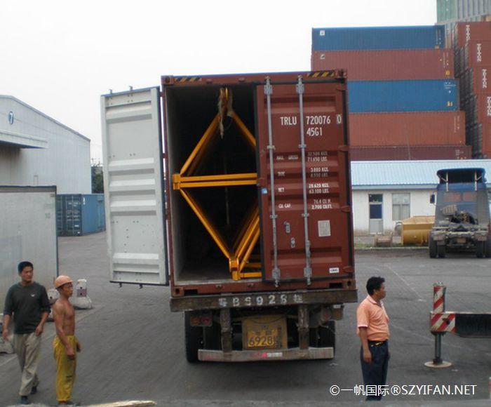特种柜运输_塔式起重机运输